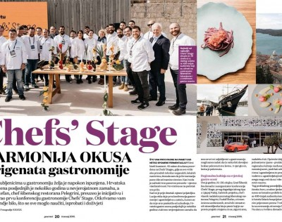 Chefs' STAGE & design tableware